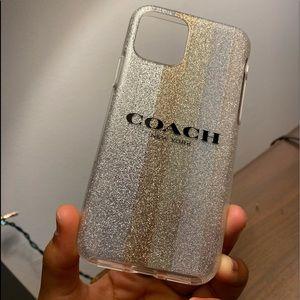 Coach iPhone 11 Pro Max Glitter Case